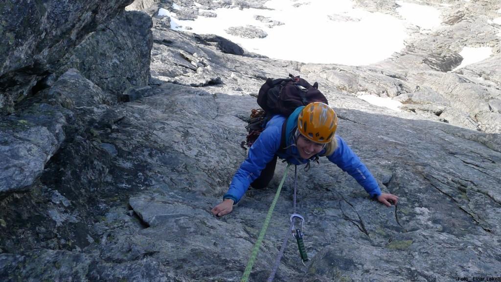 Bratt klatring opp Drømmediederet